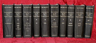 Franz Delitzsch - Keil–Delitzsch: Commentary on the Old Testament I–X. Grand Rapids 1975.