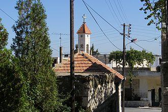 Kfarfou - Image: Kfarfou, l'église Mar Assia