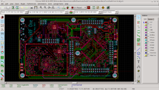 KiCad free software suite for electronic design automation (EDA)