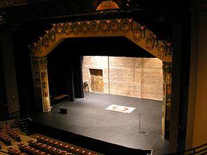 KiMo Theater - Image: Ki Mo theater stage