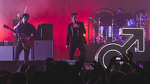The Killers - Image: Killers Brixton 120917 47