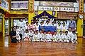 Kindertraining mit FL Fahne in Okinawa Dojo 07 2014.jpg