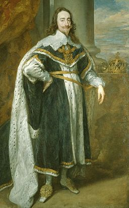 King Charles I by Anthony van Dyck cropped