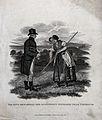 King George IV (?) rewarding an industrious haymaker, near W Wellcome V0025643.jpg