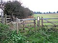 Kissing gate on footpath through pasture - geograph.org.uk - 1577464.jpg