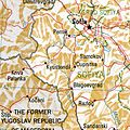 Kjustendil Bulgaria 1994 CIA map.jpg