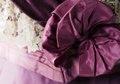Klänning av rödgredelint siden. Tillhört Wilhelmina von Hallwyl - Hallwylska museet - 89313.tif