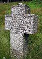 Kleines Engländerdenkmal am Schauinsland, englische Inschrift auf der Talseite.jpg