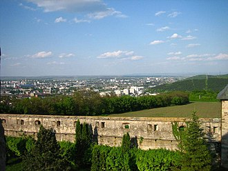 Seven hills of Iași - Image: Klooster iasi