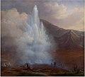 Kloss Store Geysir på Island 1835.jpg