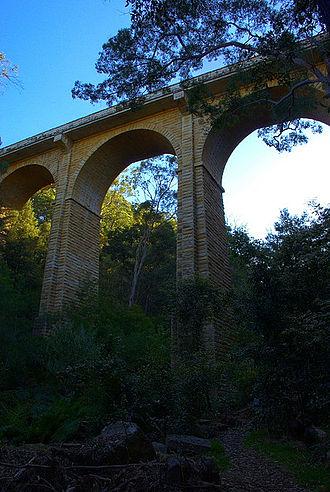 Lapstone Zig Zag - Image: Knapsack Viaduct