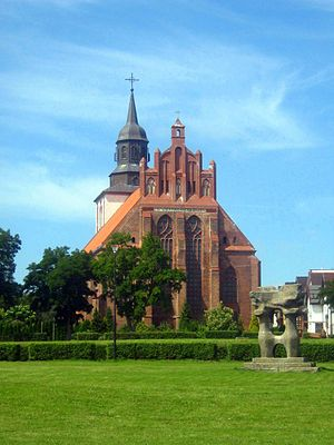 Wolin (town) - St. Nicholas church