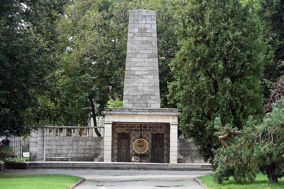 Košice hrob neznámeho vojaka
