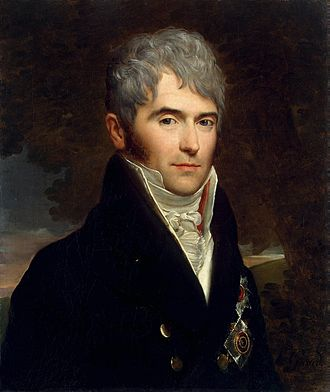 Viktor Kochubey - An 1809 portrait by François Gérard