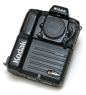 Kodak DCS series of models of digital cameras and camera backs