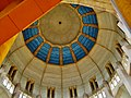 Koekelberg Basilique Nationale Sacré-Coeur Innen Kuppel 7.jpg