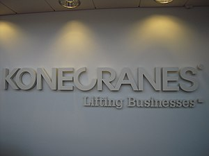 Konecranes - The slogan of Konecranes: Lifting businesses