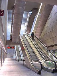 Kongens Nytorv Station under jorden.JPG
