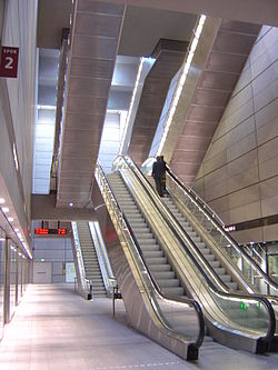 Kongens Nytorv Station under jorden.JPG