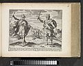 Koning Artaxerxes II en koning Artaxerxes III Perzische koningen (serietitel) Theatrum Biblicum Hoc Est Historiae Sacrae Veteris et Novi Testamenti Tabulis Aeneis Expressae (serietitel), RP-P-1976-30-197.jpg