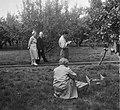 Koningin Juliana bezoekt de Rijks Landbouw Hogeschool te Wageningen vanwege het , Bestanddeelnr 904-7645.jpg