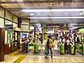 Konosu station - JR ticket gates - April 1 2018.jpg
