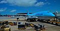 Korean Air flight in the Hong Kong International airport.jpg