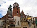 Królewska Katedra na Wawelu p.w Św. Stanisława Bm i Św. Wacława.JPG