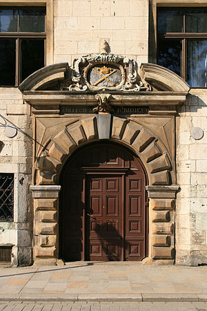 Jagiellonian University - The main baroque entrance to the university's Collegium Iuridicum