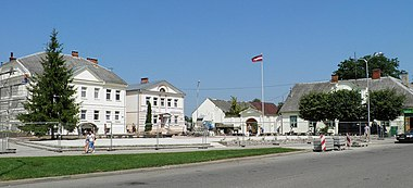 Kraslava (pilsetas centrs)
