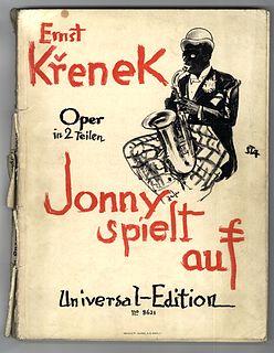 <i>Jonny spielt auf</i> opera by Ernst Křenek