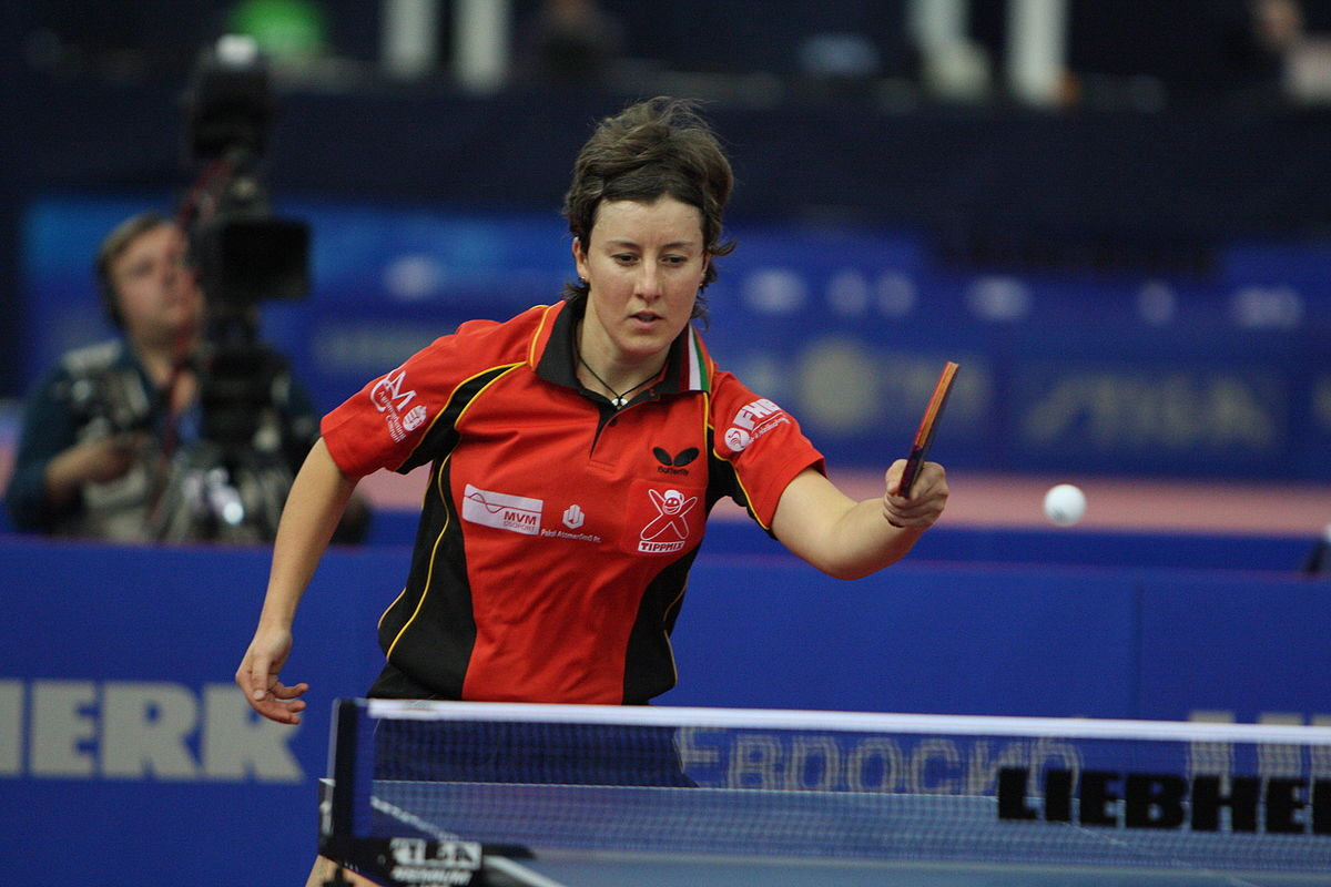 foto Angelica Rozeanu 17x table tennis world champion, Hall of Fame