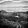 Kuguyak Crater, lake filled caldera of Mount Kuguyak stratovolcano, August 25, 1987 (GLACIERS 7002).jpg