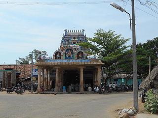 Kulithalai Town in Tamil Nadu, India