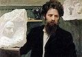 Kustodiev Portrait of Naum Aronson.jpg
