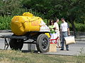Kvass barrel in Volgograd.jpg