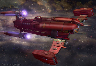 Star Trek: Enterprise - The Kzinti Dark Stalker vessel as designed by Josh Finney for use in the fifth season