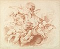 L'Air (The Air)- A Group of Three Putti on Clouds MET DP826779.jpg