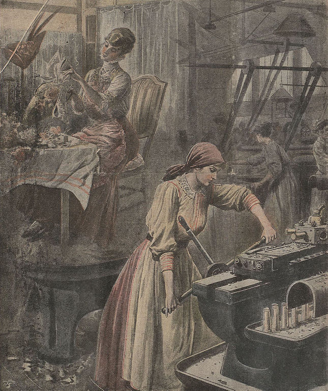 Famous Painting Of Woman During American Revolution