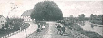 Lühe (river) - Lühe ferryhouse, 1900