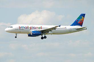 Small Planet Airlines - Small Planet Airlines Airbus A320-200