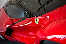 LaFerrari Wing Mirror Mounted On Carbon Fiber Stalk