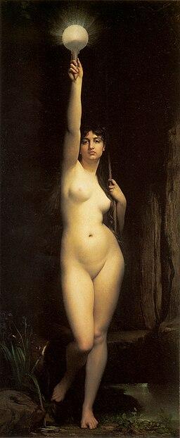 La Vérité, par Jules Joseph Lefebvre
