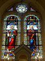 Labruyère (60), église Saint-Pierre-et-Saint-Paul, chœur, verrière n° 0 - saint Pierre et saint Paul.JPG