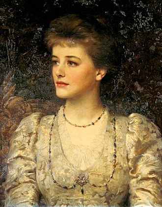 Frank Dicksee - Image: Lady Palmer, by Sir Frank Dicksee
