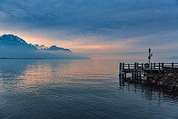Lake Geneva from Chillon Castle.jpg