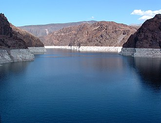 Lake Mead National Recreation Area - Lake Mead from the Hoover Dam