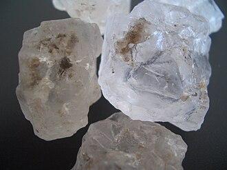 Salt in Chinese history - Lake salt from Jilantai (Inner Mongolia, China)