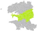 Landévennec (Finistère) dans son Arrondissement.png