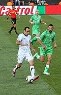 لاندون دونوفان يلعب لحساب الولايات المتحدة ضد الجزائر في كأس العالم 2010